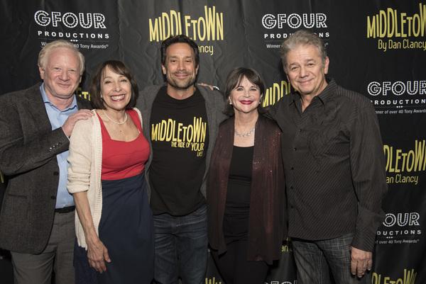 Don Most, Didi Conn, Seth Greenleaf, Cindy Williams, Adrian Zmed Photo