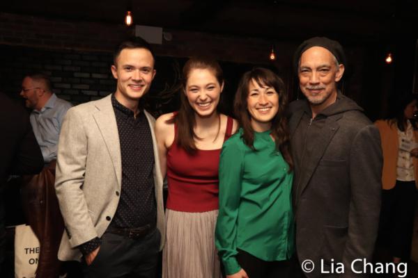 FRUITING BODIES cast members Jeffrey Omura, Emma Kikue, Kimiye Corwin and Thom Sesma