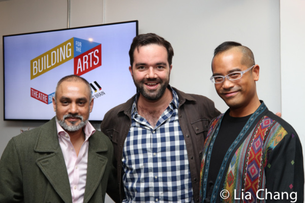 Photo Flash: Thom Sesma, Jeffrey Omura, Kimiye Corwin, Emma Kikue And More Celebrate World Premiere Of Sam Chanse's FRUITING BODIES
