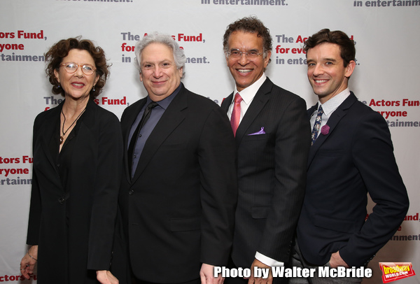 Annette Bening, Harvey Fierstein, Brian Stokes Mitchell and Michael Urie