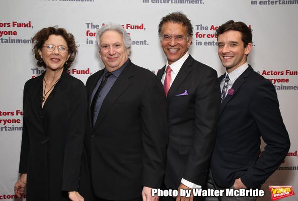 Annette Bening, Harvey Fierstein, Brian Stokes Mitchell and Michael Urie