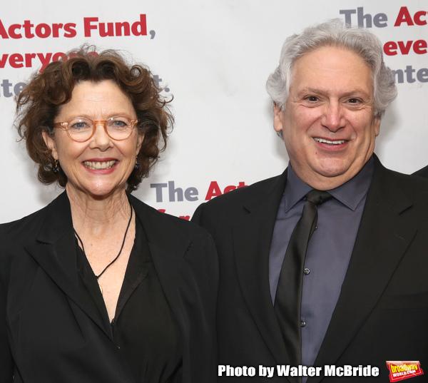 Annette Bening and Harvey Fierstein Photo