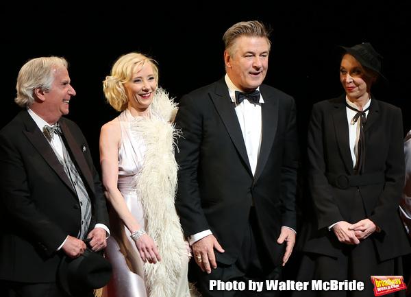 Henry Winkler, Anne Heche, Alec Baldwin and Julie Halston