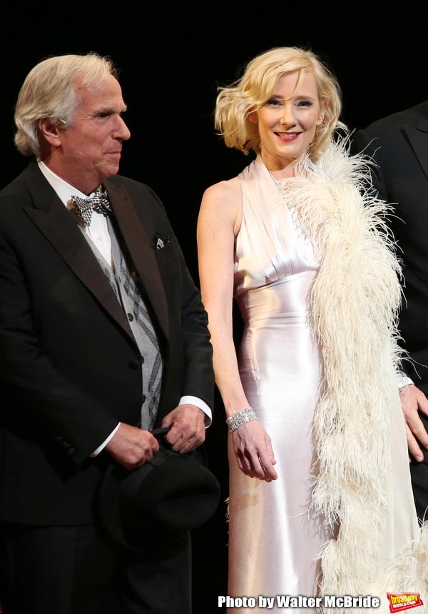 Henry Winkler and Anne Heche