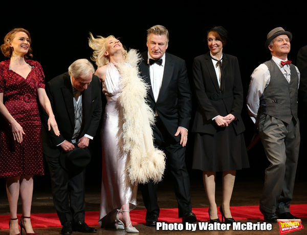 Holley Fain, Henry Winkler, Anne Heche, Alec Baldwin, Julie Halston and Dan Butler  Photo