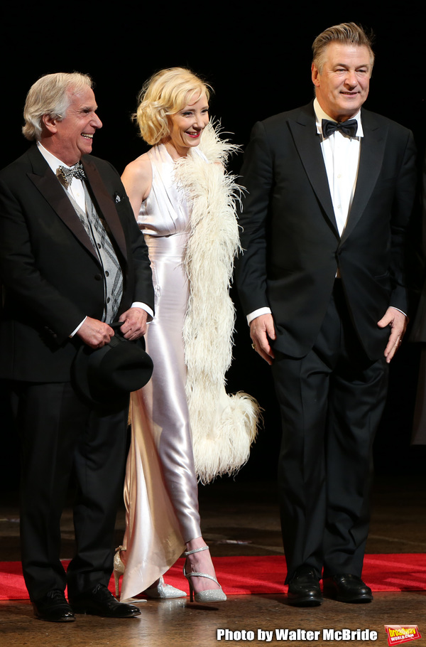 Henry Winkler, Anne Heche and Alec Baldwin