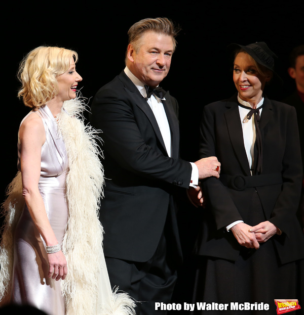 Photo Coverage: Alec Baldwin, Anne Heche, and the Cast of TWENTIETH CENTURY's Benefit Reading Take Their Bows
