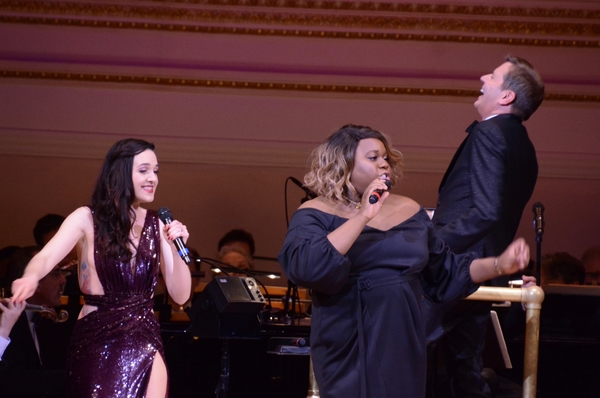 Lena Hall, Alex Newell and Steven Reineke Photo