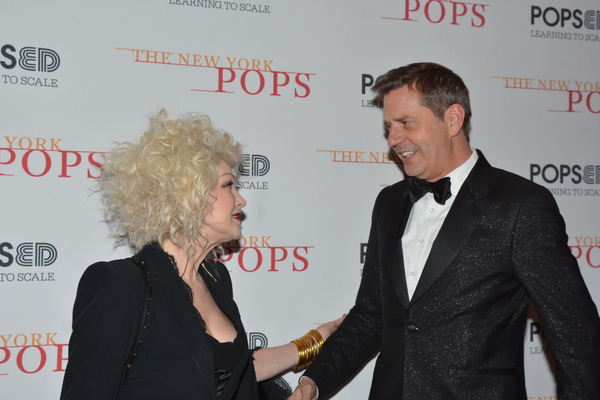 Cyndi Lauper and Steven Reineke Photo