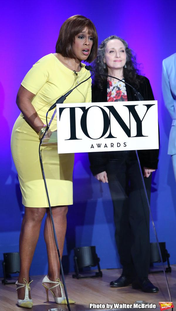 Photo Coverage: Brandon Victor Dixon and Bebe Neuwirth Announce the 2019 Tony Award Nominations