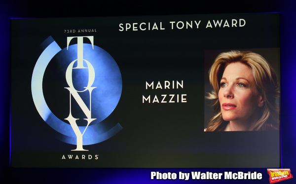Special Tony Award to Marin Mazzie Photo