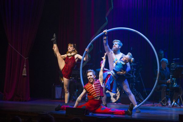 Photo Flash: Get A First Look At Suzie Mathers and More In BARNUM