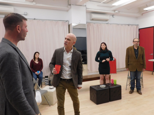 Photo Flash: In Rehearsal With The NY Premiere of THE ARCHBISHOP'S CEILING