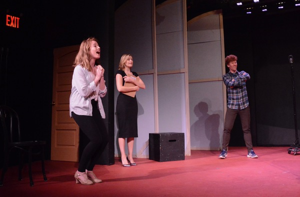 Photo Coverage: The Cast of ENTER LAUGHING Meets the Press