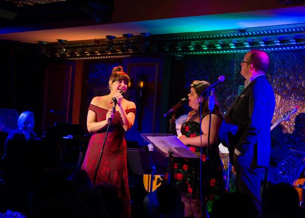 Jessica Vosk, Marissa Rosen, Michael Di Liberto Photo