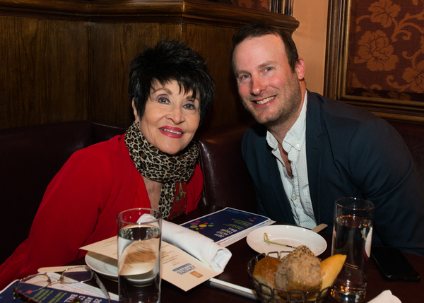 Chita Rivera, Michael Croiter Photo