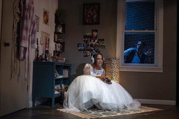 Photo Flash: First Look at Aziza Barnes' BLKS at MCC