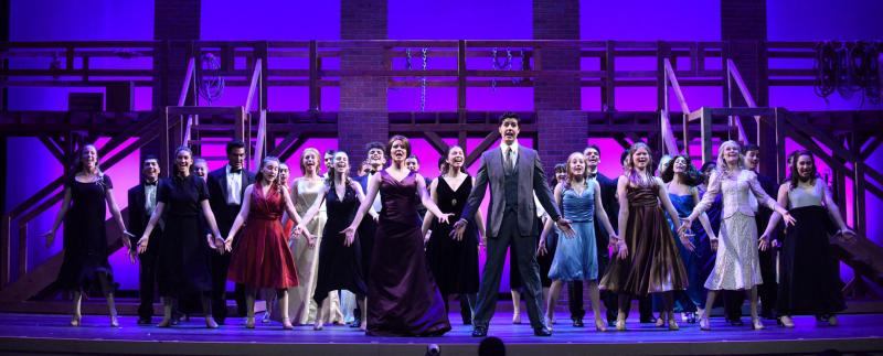 NSU University School's production of'Curtains,'which was nominated for 22 Cappie Awards including Best Musical.'
