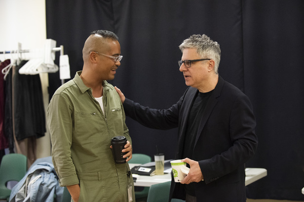 Photo Flash: In Rehearsal with Atlantic's NOMAD MOTEL
