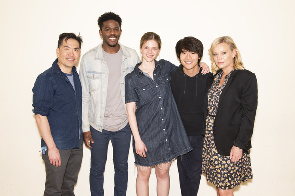 Andrew Pang, Ian Duff, Molly Griggs, Christopher Larkin and Samantha Mathis