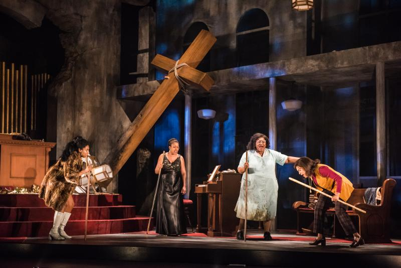 BWW Review: Seattle Rep's Stunning NINA SIMONE: FOUR WOMEN
