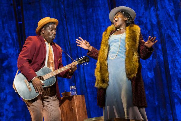 Cleavant Derricks and AnnEliza Canning-Skinner Photo