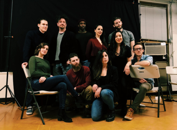 Photo Flash: In Rehearsal With Rising Sun Performance Company FRIENDLY'S FIRE