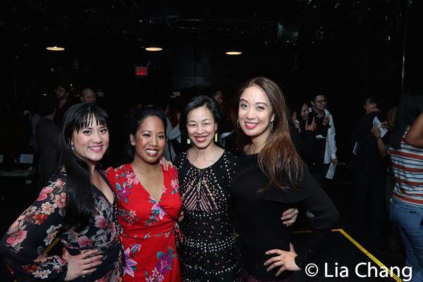 Diane Phelan, Joan Javien, Lia Chang and Jaygee Macapugay