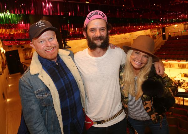 Jesse Tyler Ferguson, Will Brill, Kristin Chenoweth Photo