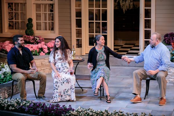 Photo Flash: First Look at Aurora Theatre's NATIVE GARDENS