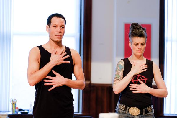 Jon Hudson Odom and Molly Brennan