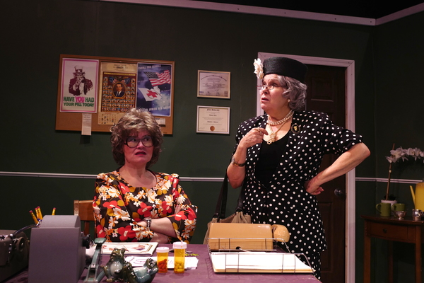 Nora Falk and Karen Lynn Gorney Photo