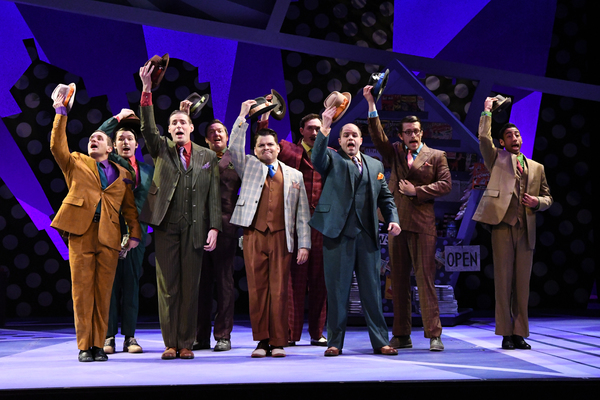The Male Ensemble of GUYS AND DOLLS