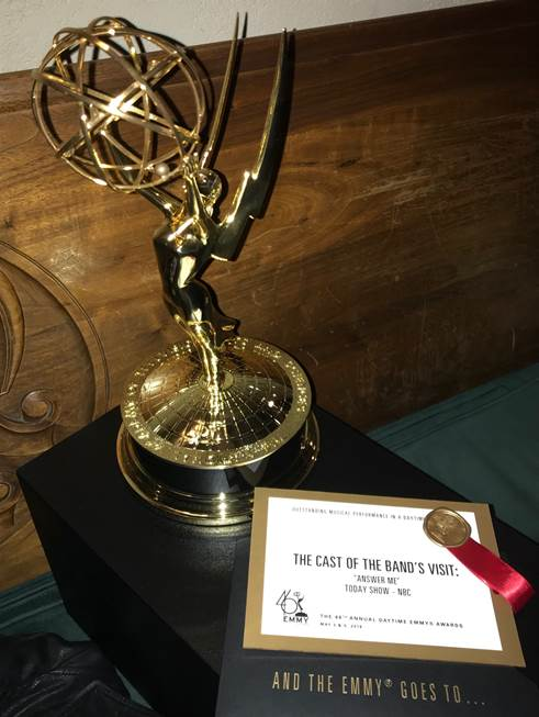 THE BAND'S VISIT Wins Daytime Emmy Award For TODAY SHOW Performance