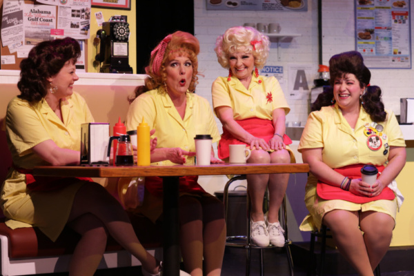 Photo Flash: First Look at Pantochino's THE WAFFLE HOUSE FIVE in Connecticut