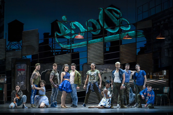 Photo Flash: First Look at Corey Cott and More in WEST SIDE STORY at Lyric