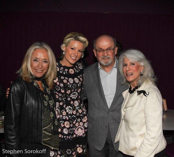 Eda Sorokoff, Natalie Rushdie, Sir Salman Rushdie, Jamie deRoy
