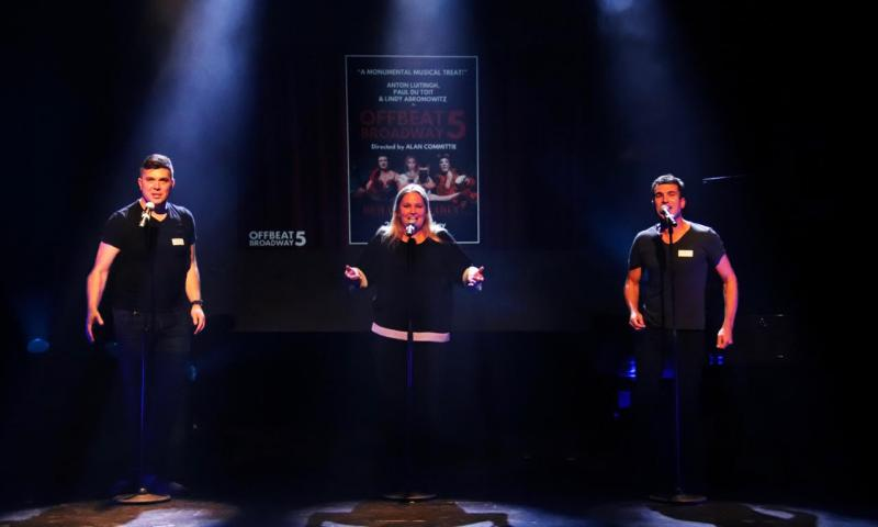 BWW Review: OFFBEAT BROADWAY 5's Cheeky Take on Hit Musicals at Theatre On The Bay