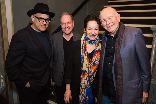 Photo Flash: Terrence McNally Celebrates 25th Broadway Production; Arin Arbus Makes Broadway Debut With FRANKIE AND JOHNNY...