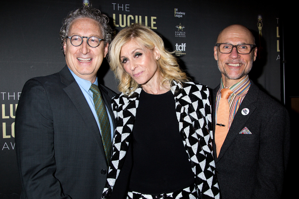 Bernard Telsey, Judith Light, Will Cantler Photo