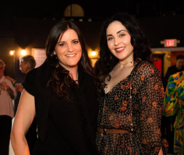 Rachel Dulude and Sarah Leach at FUN(d) HOME The 2019 Wilbury Group Gala; photo by Er Photo