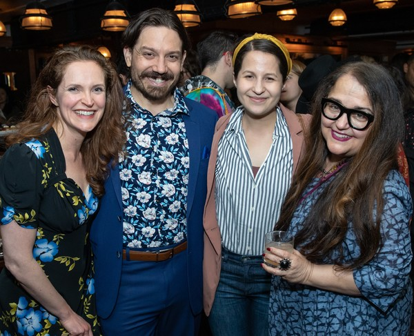Photo Flash: The Public's Mobile Unit Celebrates Opening Night of THE TEMPEST