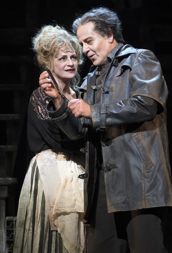 Sally Wingert and Allen Fitzpatrick
