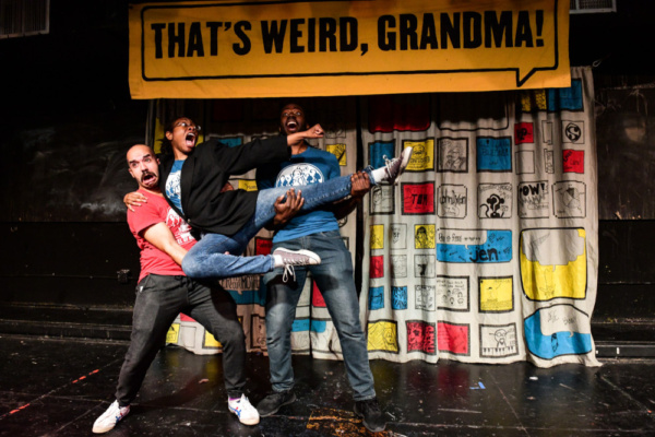 Photo Flash: Barrel Of Monkeys' THAT'S WEIRD, GRANDMA: Stories That Sing And Dance Plays Through May 25