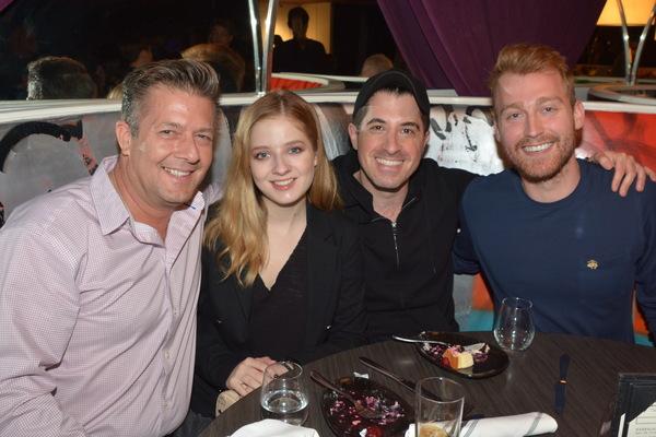 Michael Evancho,Jackie Evancho,  Will Nunziata and Daniel Dunlow Photo