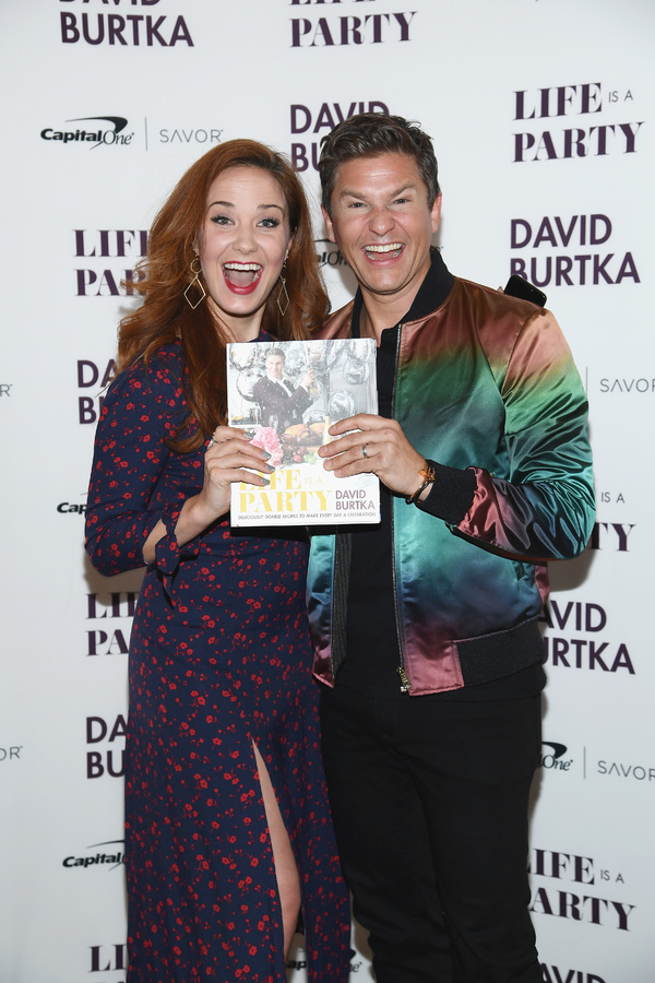 Sierra Boggess and David Burtka Photo