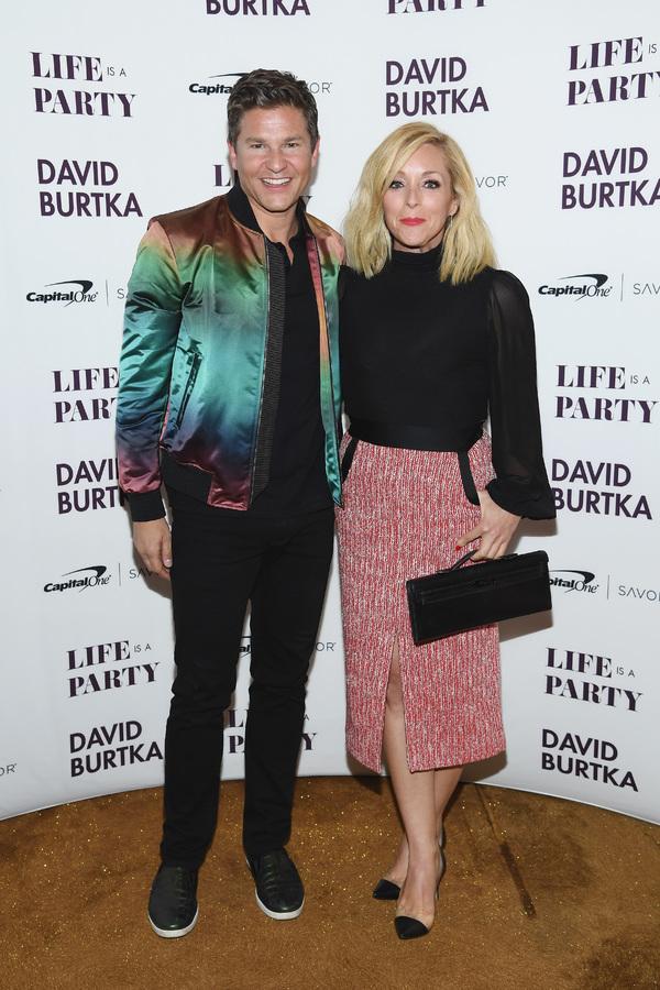 David Burtka and Jane Krakowski Photo