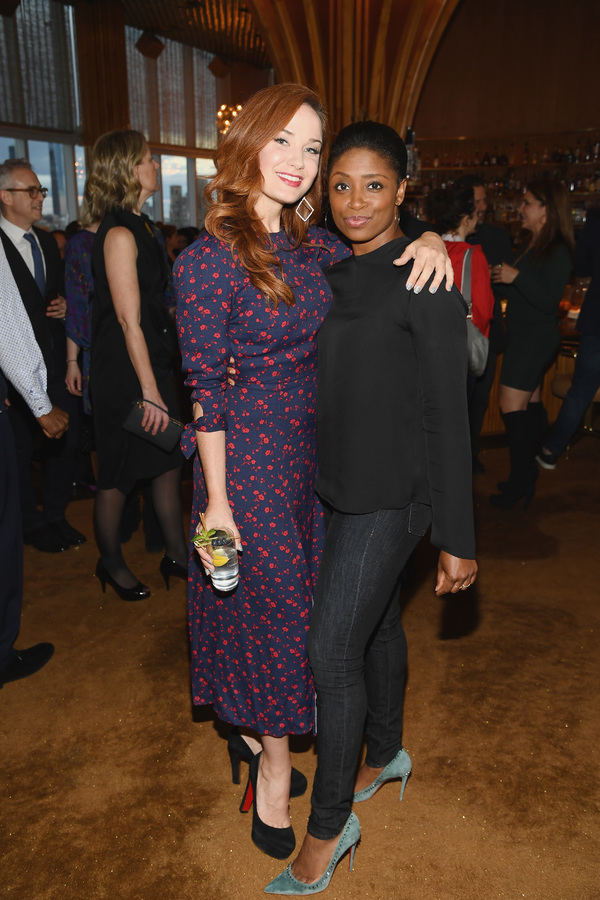 Sierra Boggess and Montego Glover  Photo