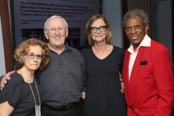 Joan Jeffri, Len Cariou, Mary McColl, and André De Shields Photo