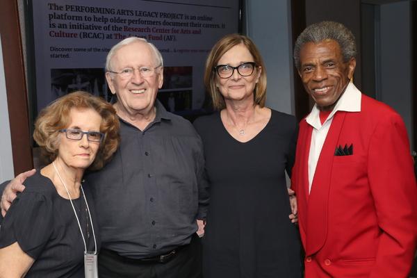 Joan Jeffri, Len Cariou, Mary McColl, and André De Shields
